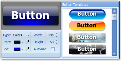 Button Shop enhances your website with elegant web buttons!