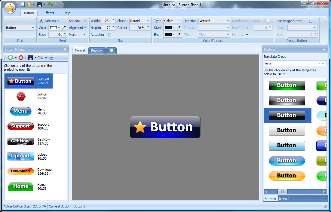 Presentation is everything enhance your website with elegant buttons! latest Screen Shot